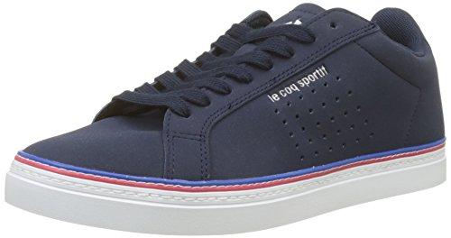 Le Coq Sportif Damen Courtace Sport Sneaker, Blau (Dress Blue Bleu), 44 EU
