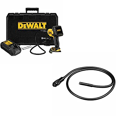 "Dewalt DCT410S1 12V Max 17 mm Inspection Camera with Wireless Screen Kit, 5.125"" x 14.375"" x 15.688"""