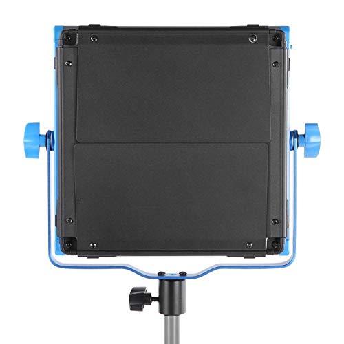DAUERHAFT Luz de Video LED Aplicación de teléfono móvil de Alto Brillo Control Remoto 3200K -6500K Luz de Relleno de Disparo, para luz suplementaria(European Standard (100-240v))