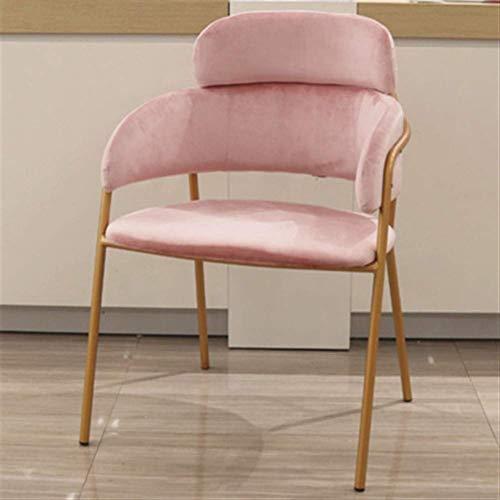 N/Z Home Equipment Nordic Light Rückenlehne Milk Tea Shop Dessert Shop Casual Fashion Chair (Farbe: B)