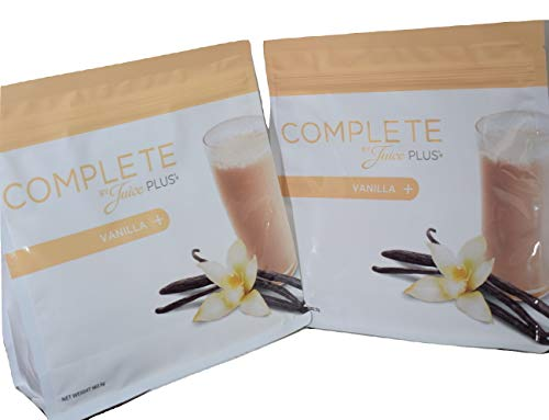 2 x Juice Plus Vanilla Complete Shake 480g Each + Free Spoon