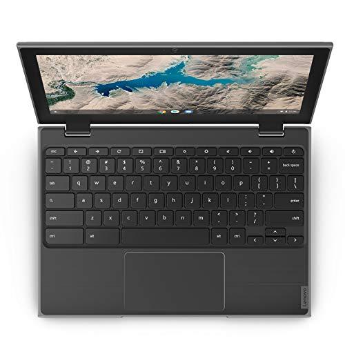 Product Image 10: Lenovo 100E Chromebook 2ND Gen Laptop, 11.6″ HD (1366 X 768) Display, MediaTek MT8173C Processor, 4GB LPDDR3 RAM, 16GB eMMC TLC SSD, Powervr GX6250, Chrome OS, 81QB000AUS, Black