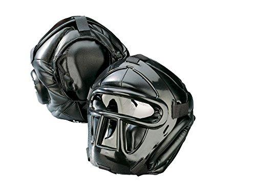 Kwon Kopfschutz Black Line mit Top Pad - XL