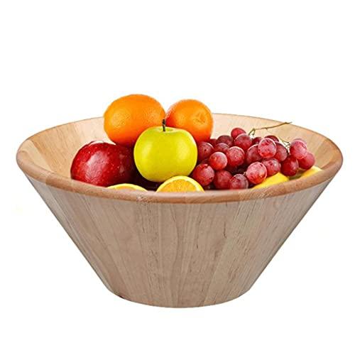 WUHUAROU Ensalada de Fruta de Madera Color Natural Color Natural DIÁMODIO JAPONIO VEAJA JAPONÉS Back DE Birch para LA Cena O Partido