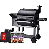 Best Pellet Grills - Z GRILLS Wood Pellet Grill and Smoker 1000 Review
