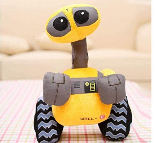 Fulinmen Original Wall-E Walle Minion Robot de Peluche Toys Wall.e Muñeca de Peluche Niños Navidad Regalo de cumpleaños 27 cm