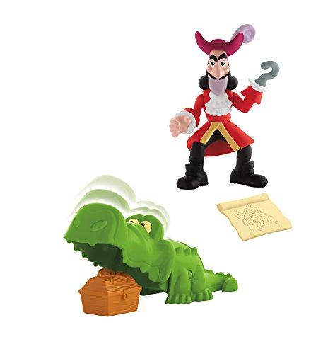 Fisher Price Disney Captain Jake & The Neverland Pirates Figures – Treasure Snatcher Hook (ccy77)