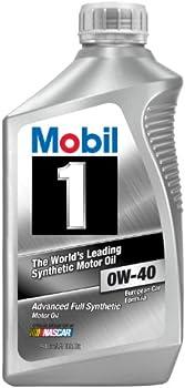 6 Pack Mobil 1 0W-40 1 Quart Synthetic Motor Oil