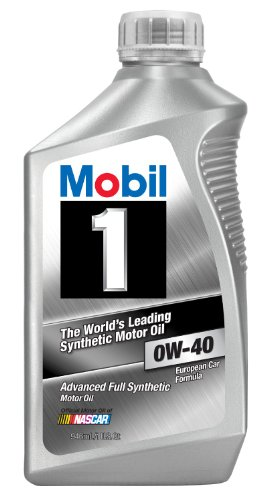 Mobil 1 96989 0W-40 Synthetic Motor Oil - 1 Quart...