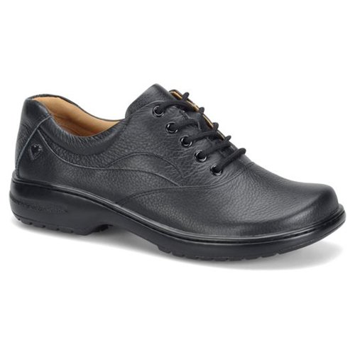 Nurse Mates Women's Macie Lace Up,Black Full Grain Leather,US 10 W