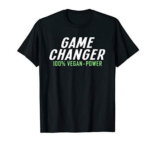 Game Changer 100% Vegan Power - Plant Based - Veganer T-Shirt