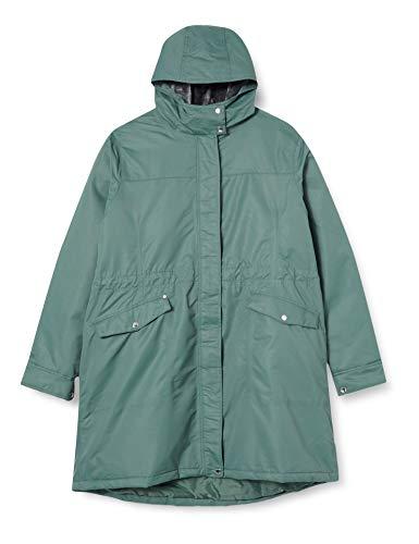 Regatta Damen Rimona Waterproof Breathable Taped Seams Insulated Lined Hooded Jacket Jacke, Balsamgrün, 36