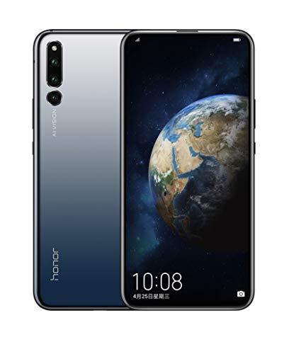Huawei Honor Magic 2 TNY-AL00 - International Version - No Warranty in The USA - GSM ONLY, NO CDMA (Black, 128GB/6GB) - Black,128GB/6GB