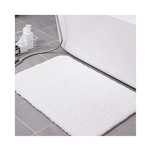 Ramells badmat van katoen met vezels, super absorberend badtapijt, badmat voor de badkamer