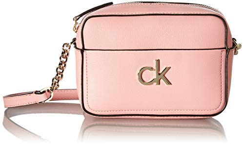 Calvin Klein Camera Bag, BOLSA DE CÁMARA W/PCKT para Mujer, Purple, 28 Inches, Extra-Large
