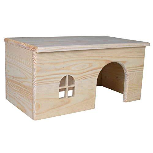 Trixie de Madera casa para Conejos, 40x 20x 23cm