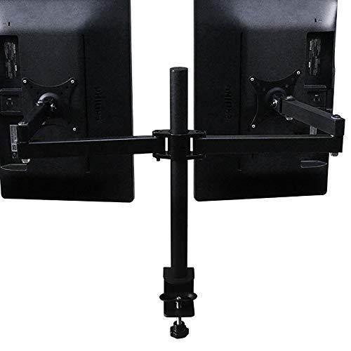 Experiencia Confortable Tipo de Aparato de doble pantalla de soporte del monitor Soporte giratorio de escritorio de elevación de la suspensión de televisión Práctico Soporte para Monitor