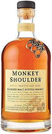 Monkey Shoulder Monkey Shoulder Malt Blended Scotch, 750Ml, 86 Proof, 750 ml