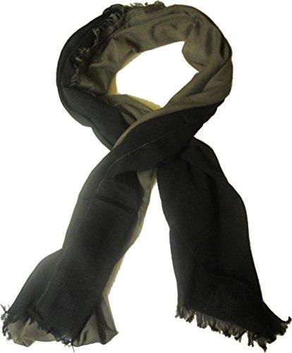 Hüftgold MISCHMASCH BERLIN Schal/Halstuch schwarz khaki