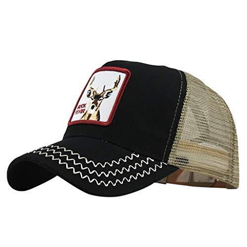 Gorra de Béisbol Hombre y Mujer, Uribaky Clásico del Algodon Hip Hop Transpirable Bordado Boinas Sombreros de Vestir Unisex Ajustable Deporte Pesca al Aire Libre …