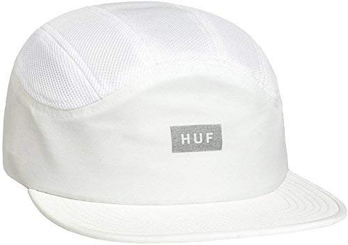 HUF Bar Logo 7 Panel Blanco