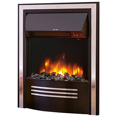 """Celsi Accent Infusion Black 16"""" Inset Electric Fire"""