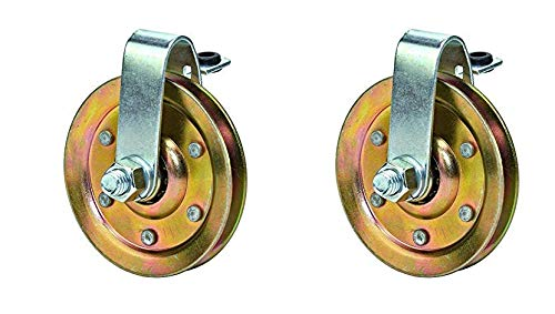 Review Of 3-Garage-Door-Pulley-with-Cable-Restraint-Heavy-Duty 2 pulleyy