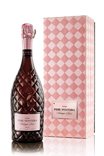 Cava Vintage Rosè Gran Reserva Brut D.O. Cava – Pinot Noir – Crianza: 43 Meses – 12% Alcohol – Selección vins&co barcelona - 750 ml