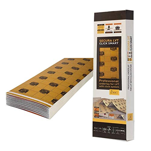 1,5mm 5m² Dämmunterlage für Vinyl und Designböden