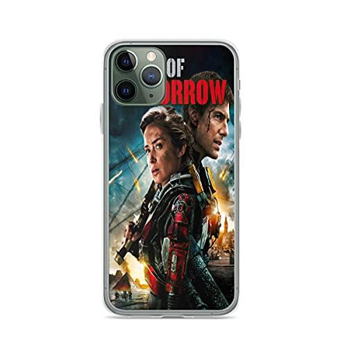 Edge of Tomorrow Pure Clear Cajas del Teléfono Cover iPhone 12/11 Pro MAX 12 Mini SE X/XS MAX XR 8 7 6 6s Plus Funda