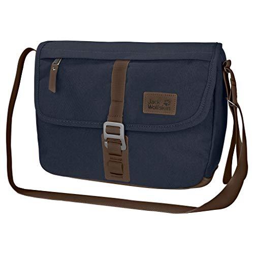 Jack Wolfskin Unisex-Erwachsene Warwick Ave sac à bandoulière Tasche, Blau (night blue), One Size