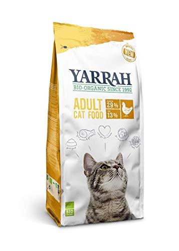 Yarrah Bio Croquettes au Poulet pour Chat 10 kg