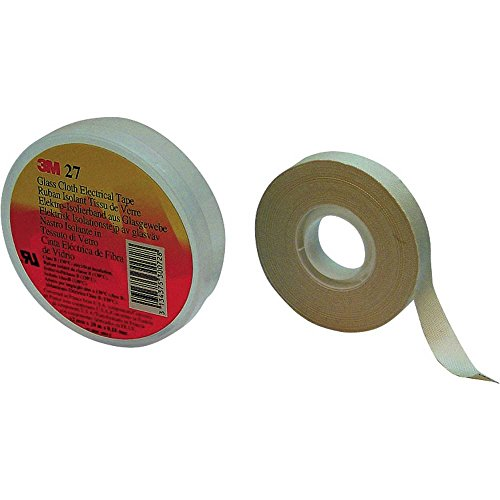 3M Scotch 27 FE510085544 Gewebeklebeband Scotch® 27 Weiß (L x B) 20m x 19mm 20m