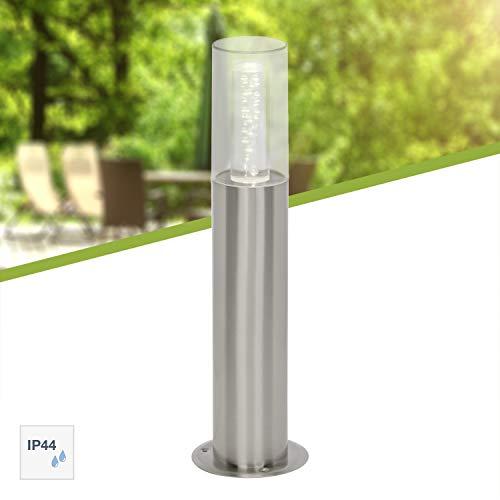 Brilliant G96303/82 Arctic Borne Extérieure LED, Métal/Plastique, Intégré, 6.5 W, Acier