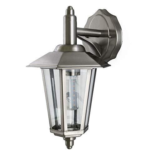 Aussenleuchte Aussenlampe Wandleuchte Wandlampe Edelstahl E27 601B
