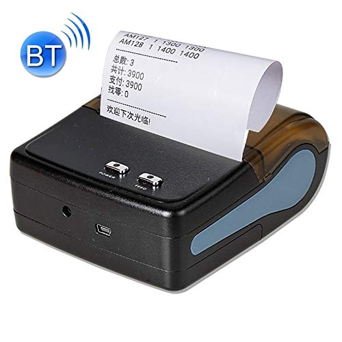 Review Of LUOKANGFAN LLKKFF Office Electronics Receipt Printers QS-8001 Portable 80mm Bluetooth POS ...
