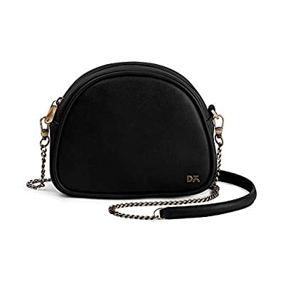 Dailyobjects Women's Sling Bag (Black)