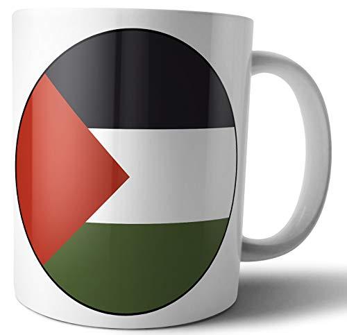 Palestina - Palestijnse vlag - Thee - Koffie - Mok - Beker - Verjaardag - Kerstmis - Cadeau - Geheime Kerstman - Stocking Filler