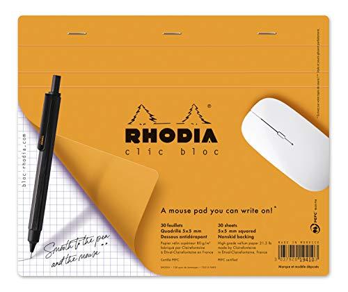 Rhodia Clic Block Mousepad Schreibblock 190 x 230 surfin '