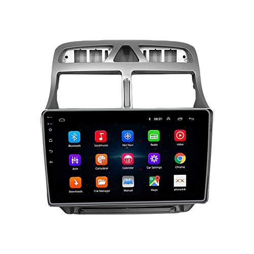 Android 10 autoradio Navigazione per auto headunit Stereo Lettore multimediale GPS Radio 2.5D IPS Touchscreen PerPeugeot 307