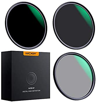 K&F Concept 82mm Lens Filter Sets Neutral Density ND8 ND64 CPL Circular Polarizer for Professional Camera Lens with Multiple Layer Nano Coated