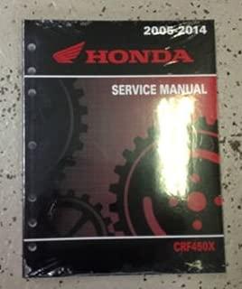2005 Honda CRF450X CRF 450X Motorcycle Shop Service Repair Manual FACTORY NEW