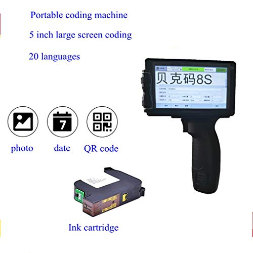 Buy Discount Handheld Coding Machine Portable Inkjet Printer High-Definition Coding Date QR Code Ser...