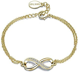 Mestige MSBR3206 Gold Infinitely Yours Bracelet for Women