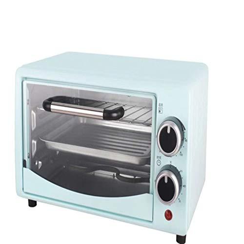 Kleine elektrische apparaten Multifunctionele mini-oven huishoudelijke bakken van brood cake automatische 13 liter 750 watt,Blue