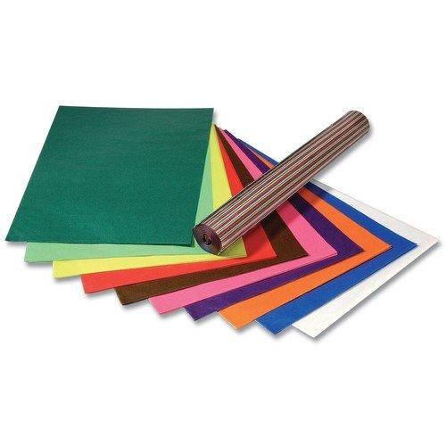 folia Transparentpapier 115 g/m², 50,5 x 70 cm, 10 Farben, Mehrfarbig, 10-teilig (1 Set)