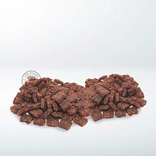 GESPETFOOD - Snack Deshidratado para Perros - 2 Bolsas de 500 gr - Nugget de Ternera para Perros - 100% Carne de Ternera - Sabor Único - Encías Saludables - 100% Natural - Fabricado en España