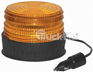 Truck-Lite Economy Rubbolite Beacon Yellow Permanent Mount 6822A