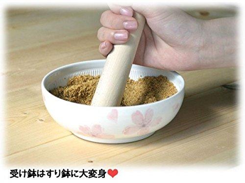 有田焼 両面大根おろし すり鉢セット 水切り網付き