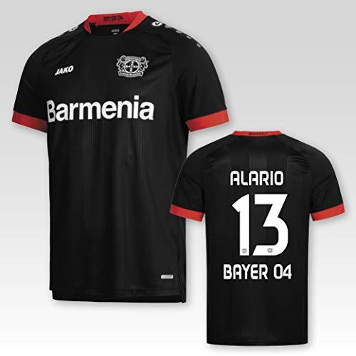 JAKO Bayer 04 Leverkusen Heimtrikot 2020/21 Kinder mit Spielerflock Alario Nr. 13 (128)